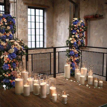 Аренда комплекта из 20 шт насыпных свечей