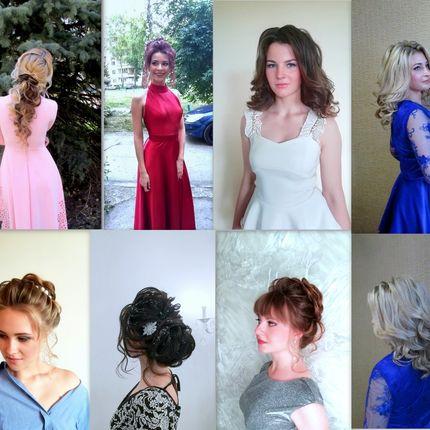 Причёски и макияж для гостей