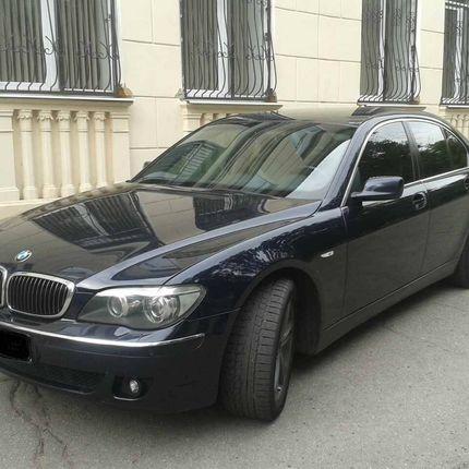 Аренда авто BMW 7, 1 час