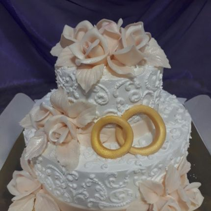 """Торт """"Золотые кольца"""""""