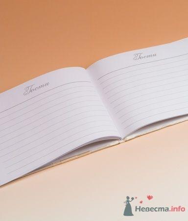 Книга пожеланий разворот. Жемчуг - фото 53566 RosyDog – свадебные аксессуары из Америки и Европы