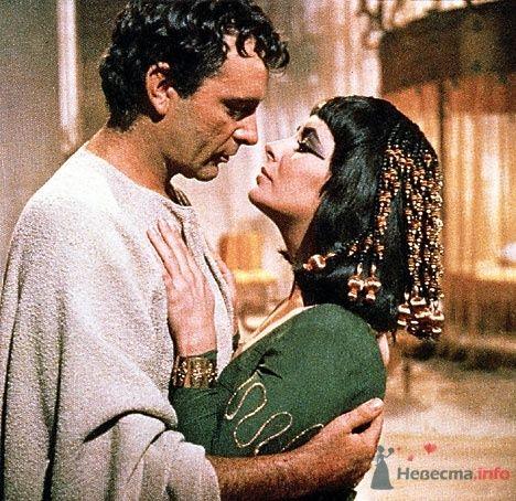 Лиз Тейлор и Ричард Бартон - исполнители ролей Клеопатры и Марка Антония - фото 56051 Incognito