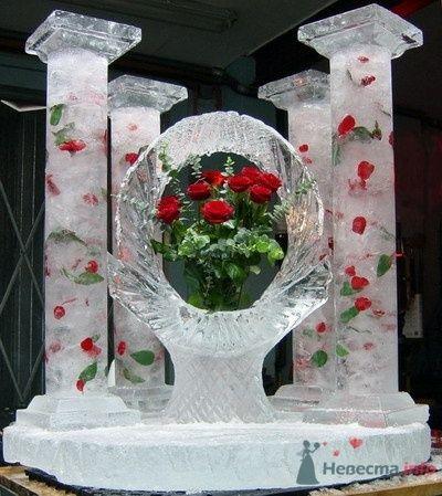 Фото 57697 в коллекции Варианты оформления банкетных залов и выездных церемоний - Incognito