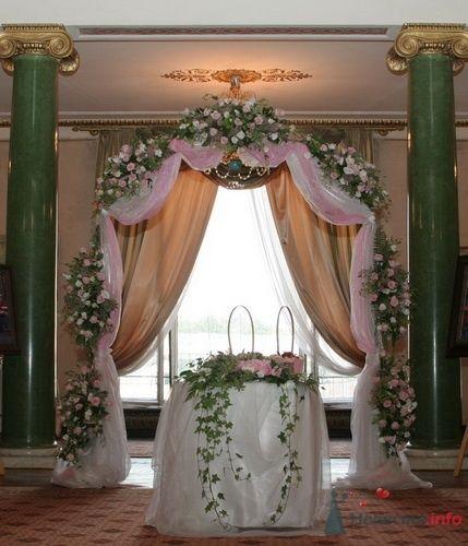 Фото 57836 в коллекции Варианты оформления банкетных залов и выездных церемоний - Incognito