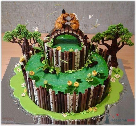 Фото 67199 в коллекции Интересные и необычные торты - Incognito