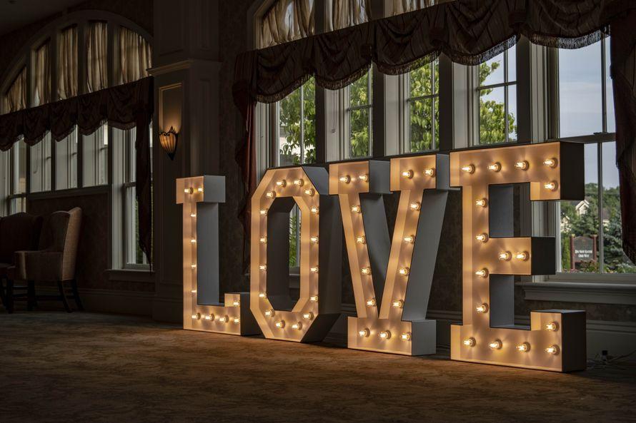 Ламповые буквы в аренду