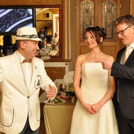 Проведение свадьбы на английском/французком языке