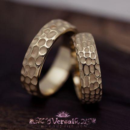 Парные обручальные кольца, артикул VGOK0121
