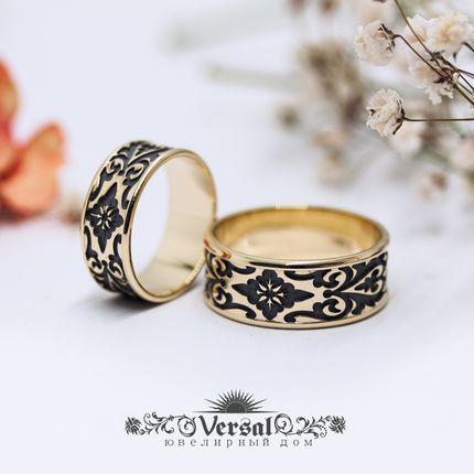 Парные обручальные кольца, артикул VGOK2110