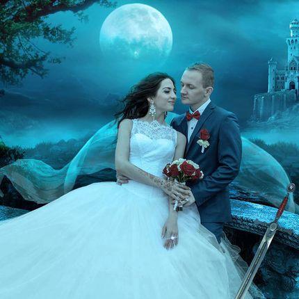 Художественная обработка свадебных фото