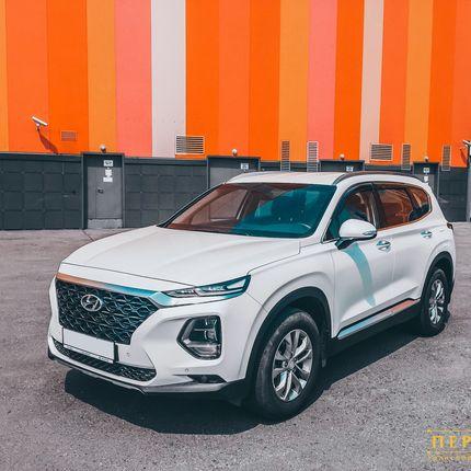 Аренда Hyundai Santa Fe, от 3-х ч.