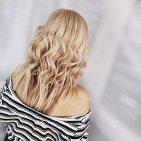 Серф локоны на короткие волосы