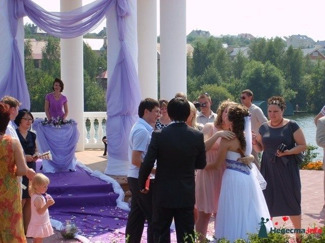 Фото 125941 в коллекции Выездная регистрация в Белом Береге. Свадьба Натальи (LoVe To Be BriDe) и Дмитрия 25.07.2010