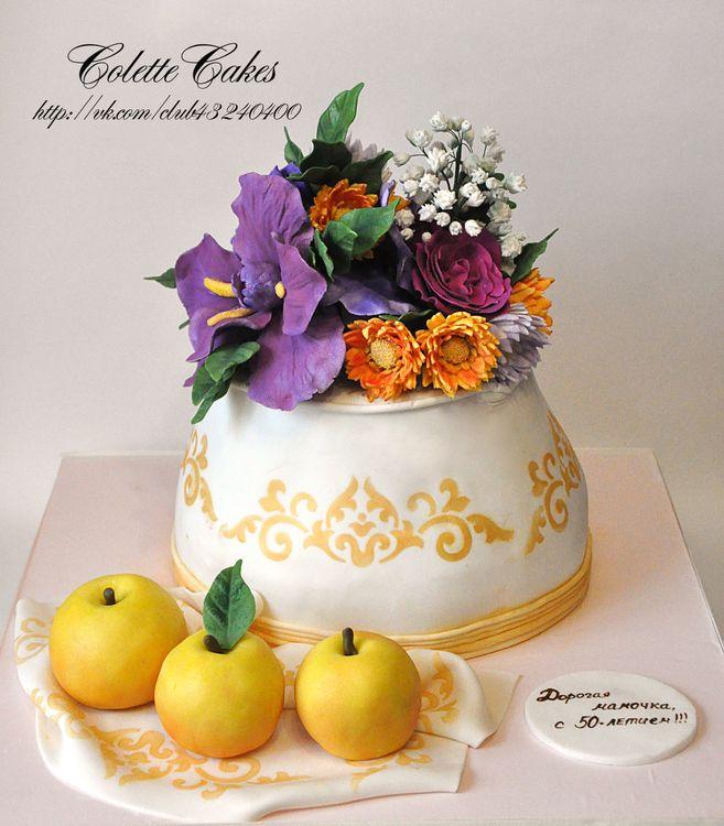 одном торт ваза с цветами фото москве, области другим