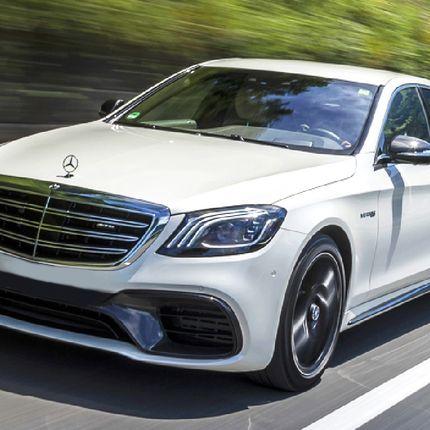 Mercedes Benz S222, белый в аренду, 1 час