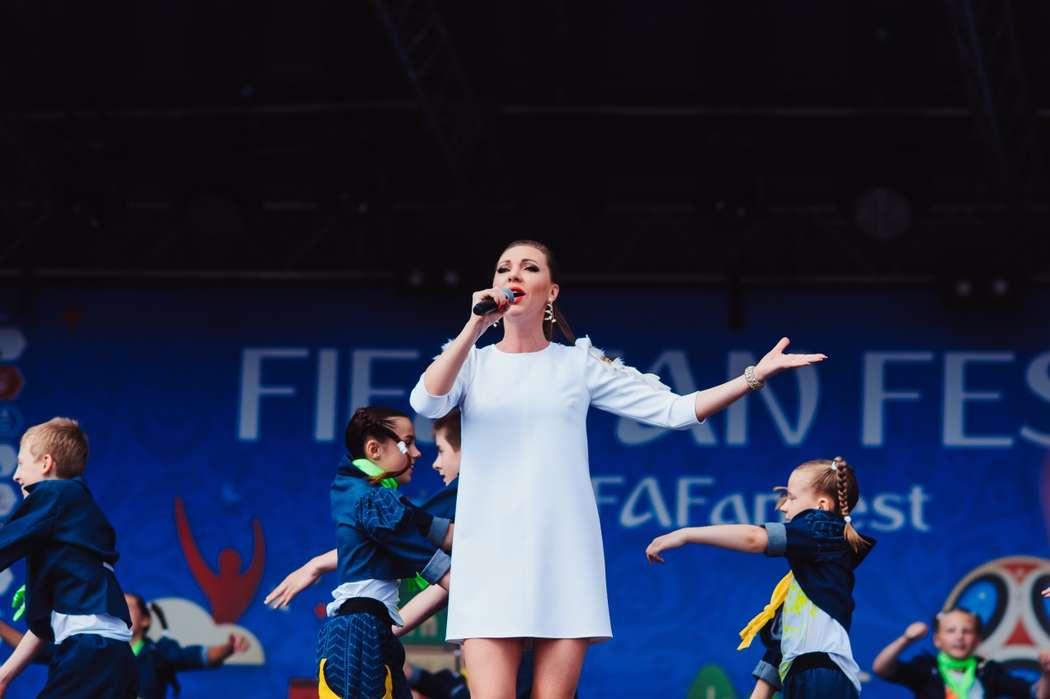 Fifa fan fest 2018. - фото 18745190 Певица Наталия Иванова