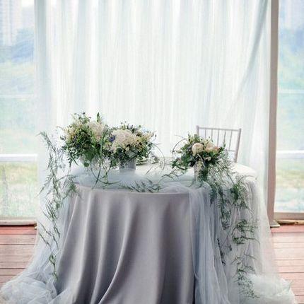 Декор стола молодоженов