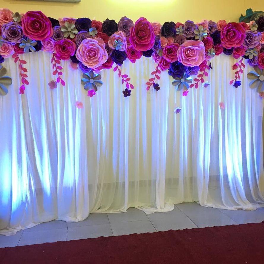 Цветы для оформления зала