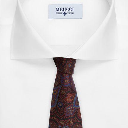Шелковый галстук с узором пейсли