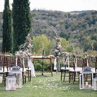 Официальная церемония на вилле в Тоскане