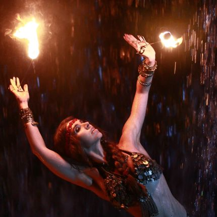 Танец с огнём - Трайбл