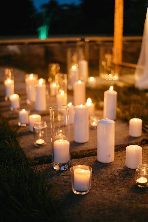 Оформление вечерней церемонии