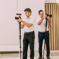 Видеосъёмка полного дня, два видеографа