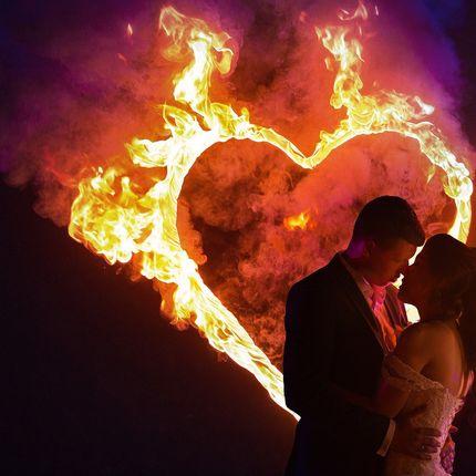 Свадебные фейрверки