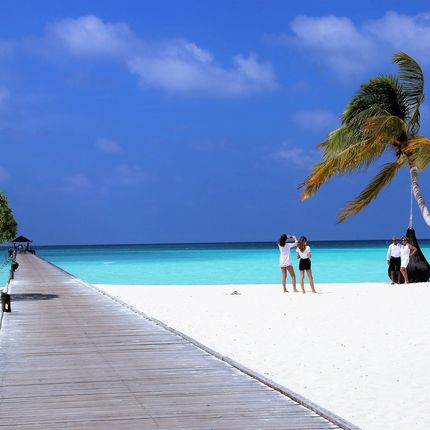 Организация путешествий медового месяца на Мальдивах