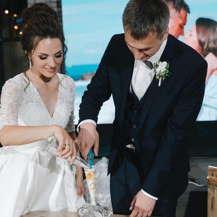 Проведение песочной церемонии