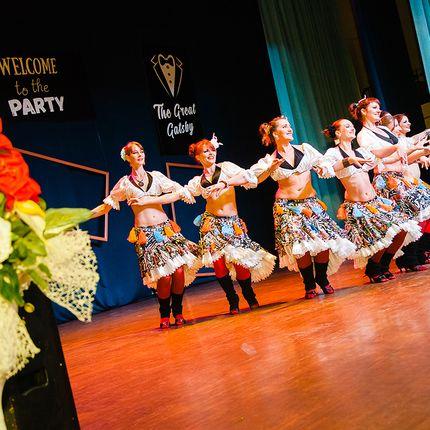 """Русский народный танец """"Лебедушка"""", """"Кадриль"""""""