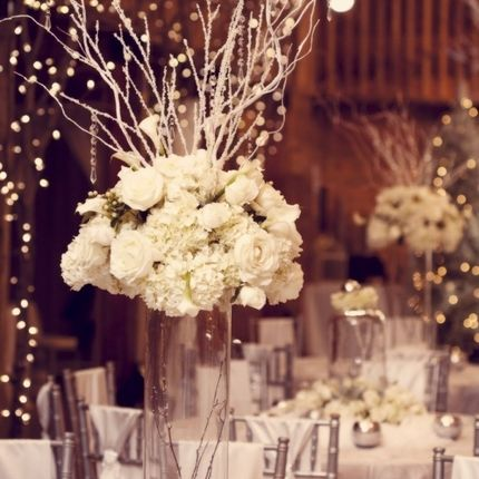 Декоративные композиции на столы гостей