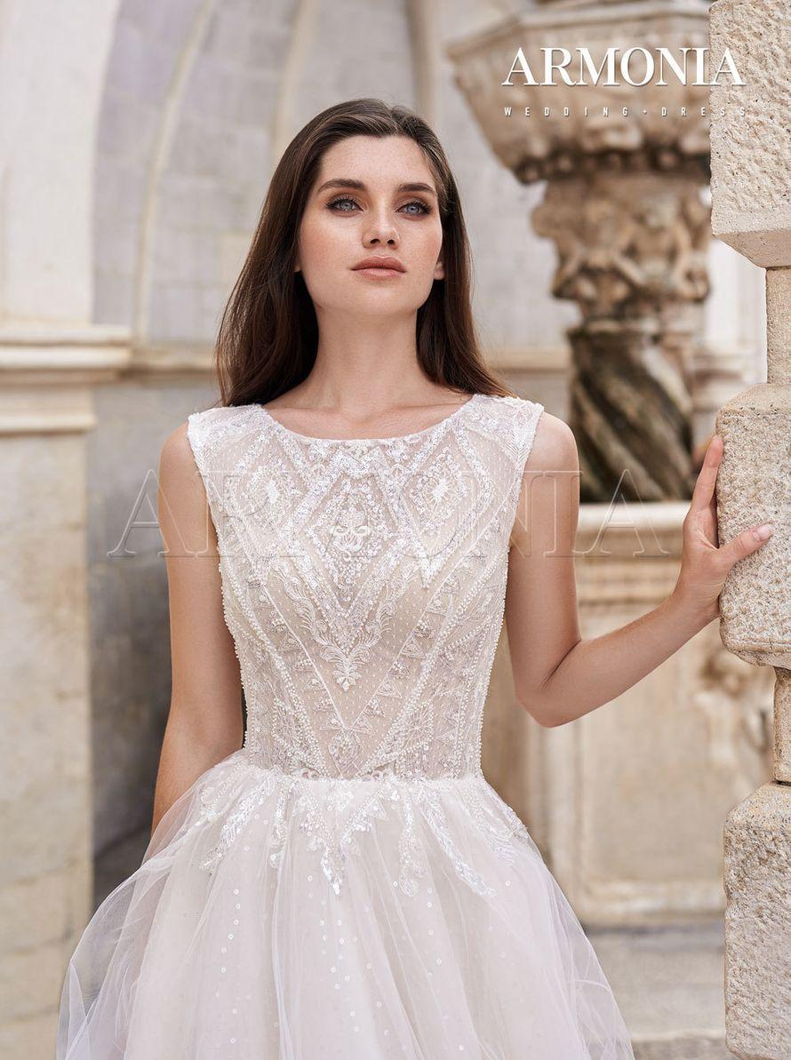 Платье Felis - пышное с бисером