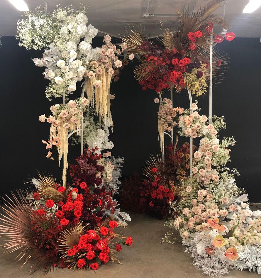 """Фото 18874012 в коллекции Композиции высокие, подвесные, арки, фотозоны - """"Allure"""" - flowers&decor"""