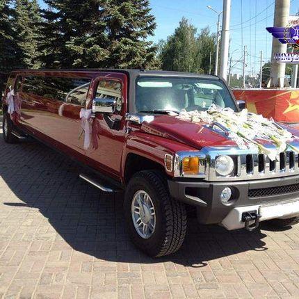 Hummer H3 Red Party в аренду, 1 час