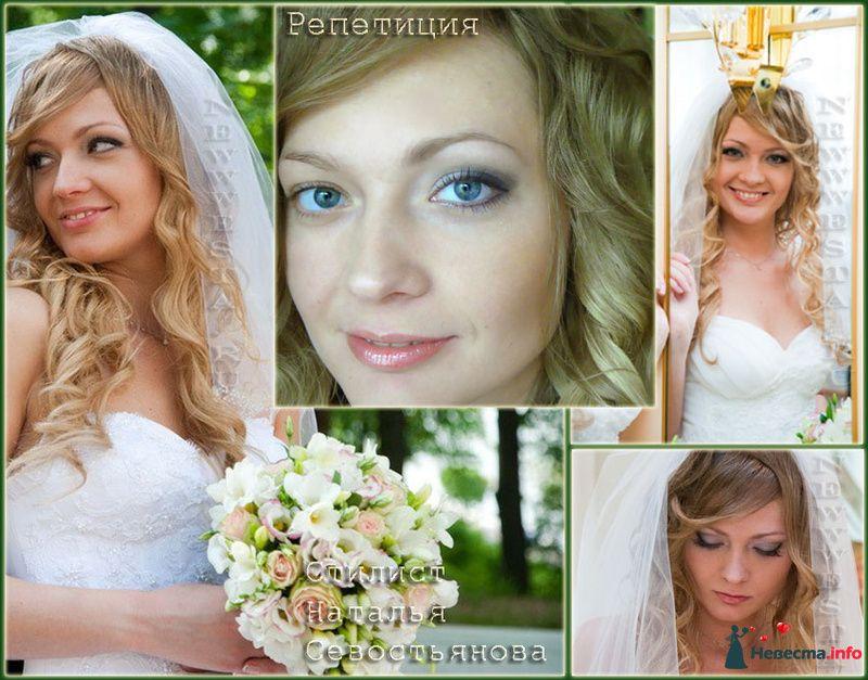 Прическа и макияж Елены ( длинные волосы) - фото 115653 Свадебный стилист-визажист Севостьянова Наталья