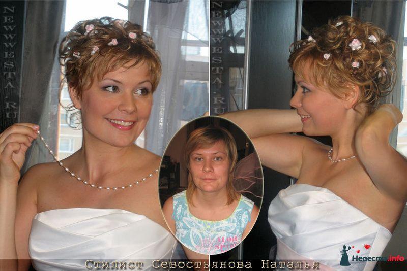 Прическа и макияж Оли (короткие волосы) - фото 115658 Свадебный стилист-визажист Севостьянова Наталья