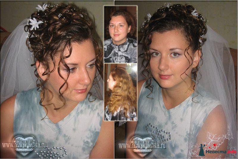 Прическа и макияж Лены (длинные волосы) - фото 115781 Свадебный стилист-визажист Севостьянова Наталья