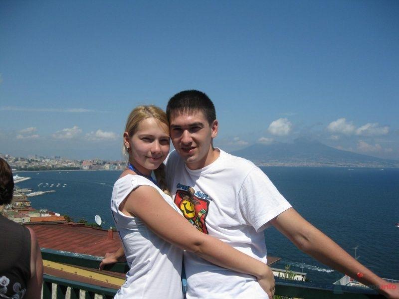 Неаполь, на фоне Везувия - фото 64920 busya