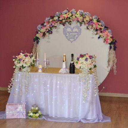 Оформление свадьбы в лавандовом цвете