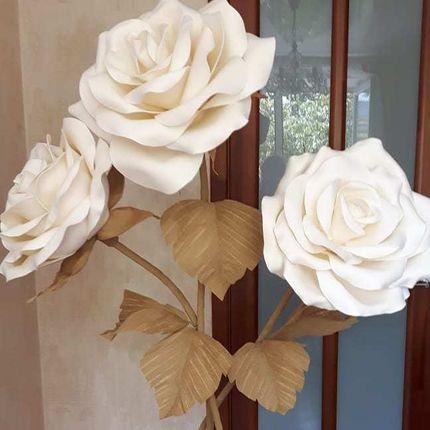 Ростовые розы из фоамирана