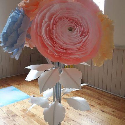 Букет из ростовых цветов