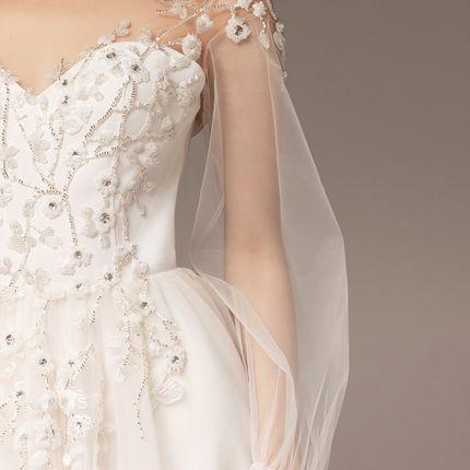"""Платье кружевное с корсетом и вышивкой """"Жизель"""""""
