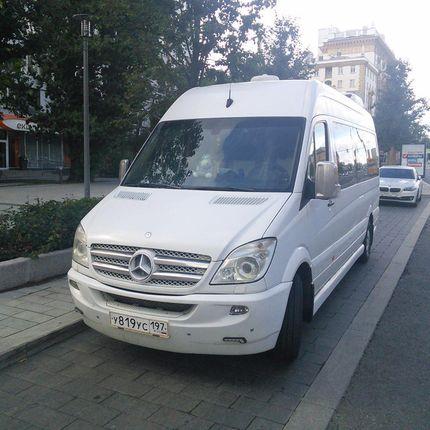 Микроавтобус Мерседес Люкс в аренду, 1 час