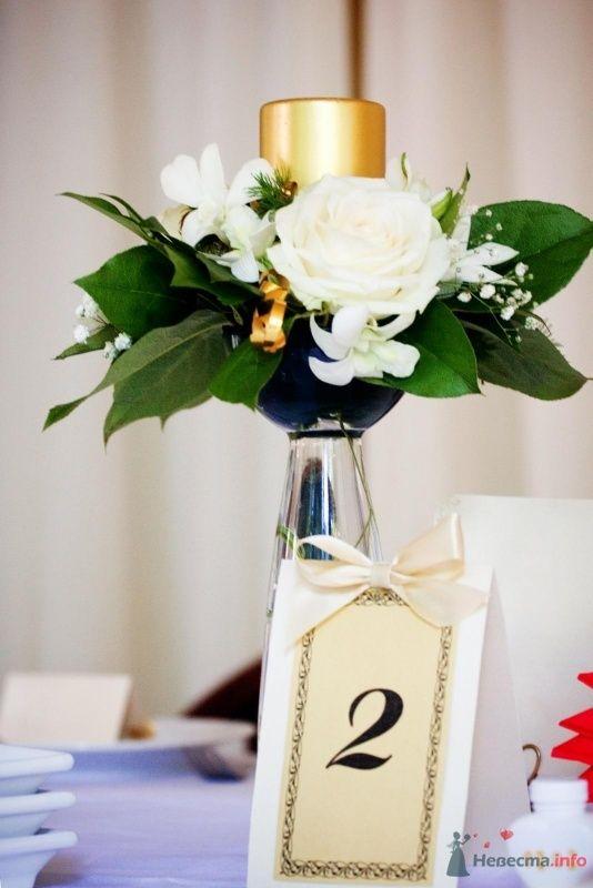 карточки с номерами столов - фото 59740 Юлия - свадебный распорядитель