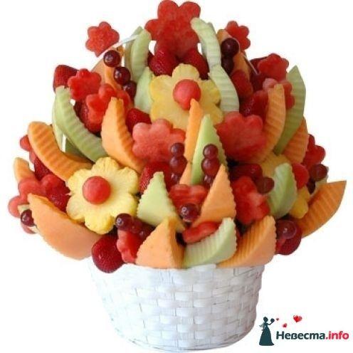 Букет из фруктов на фуршет - фото 110129 besol
