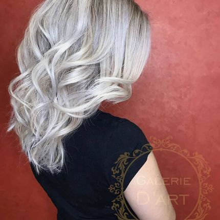 Сложное окрашивания волос