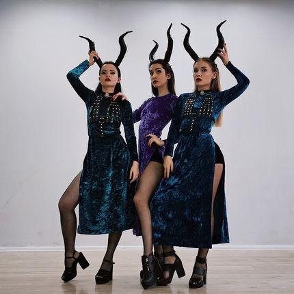 """Танцевальное-шоу """"Малефисенты"""""""