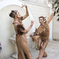 """Живые статуи """"Амур и Психея"""" - выступление"""
