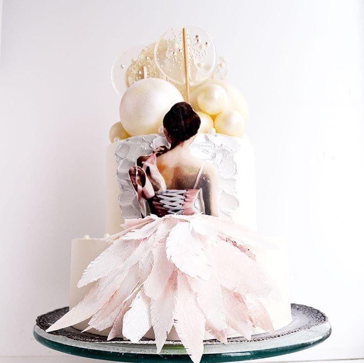 Бисквитный торт, 1 кг.